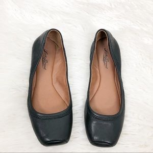 Lucky Brand Santana Square Toe Leather Flats